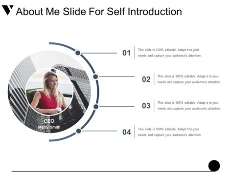 sle product catalogue template self introduction powerpoint presentation sle self