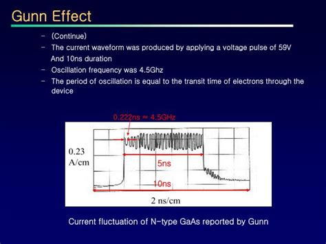 gunn diode threshold voltage ppt the gunn diode powerpoint presentation id 3766133