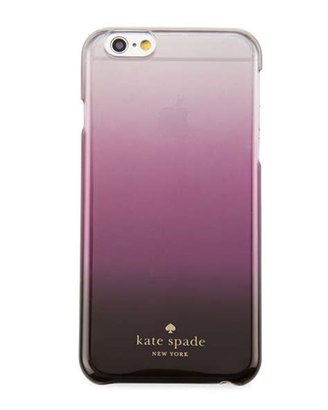 Casing Iphone 6 Purple Hkepr014 kate spade new york ombre iphone 174 6 6s purple neiman