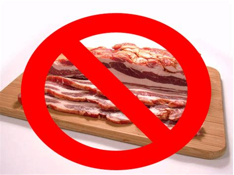 can dogs eat turkey bacon not bacon