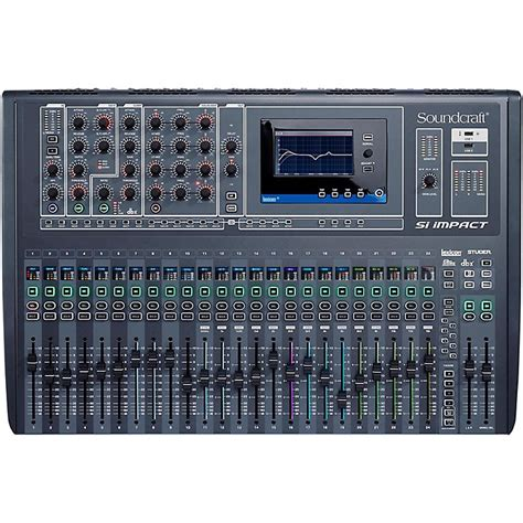 Mixer Soundcraft 32 Channel soundcraft si impact 32 channel digital mixer music123