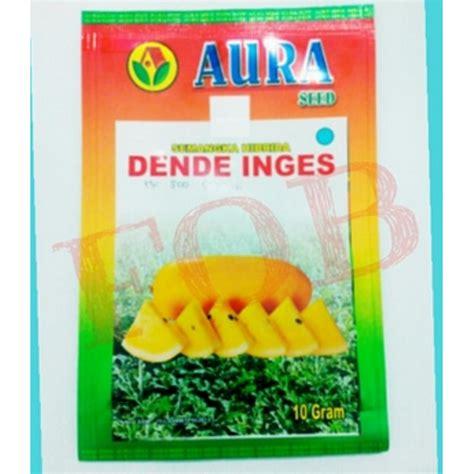 Bibit Semangka Kulit Kuning jual benih aura seed semangka dende inges 10gr hp