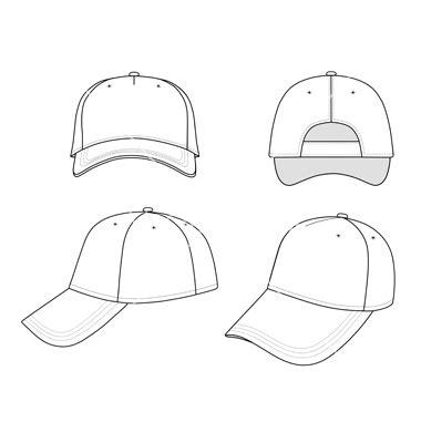 18 Free Vector Man With Cap Images Image Of A Man Wearing Baseball Cap Vector Silhouette Baseball Cap Template Illustrator