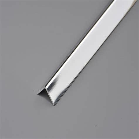 Waterproof Ceiling Tiles Bathroom 3m Chrome Angle Cladding Trim Uk Bathroom Solutions