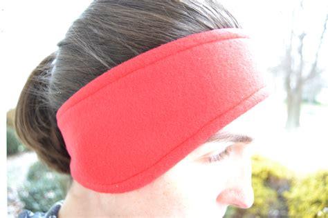 pattern for fleece headbands fleece ear warmer headband tutorial mary martha mama