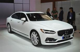 All Volvo Models All Volvo S90s To Be Made Wheelbase Models