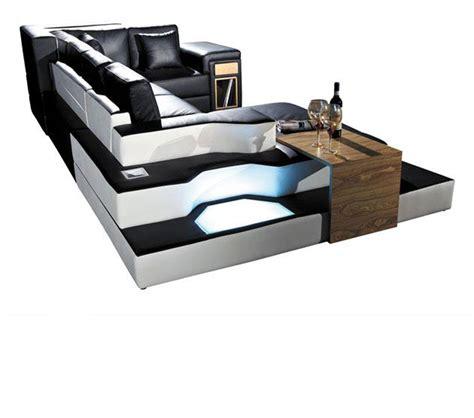 modern bonded leather sectional sofa dreamfurniture com 2314 modern bonded leather
