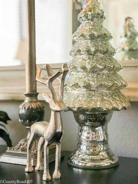 mercury glass home decor a merry christmas bedroom county road 407