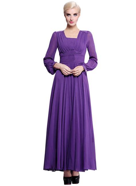 S Sleeve Chiffon Dress sleeve chiffon evening bridesmaid maxi dress