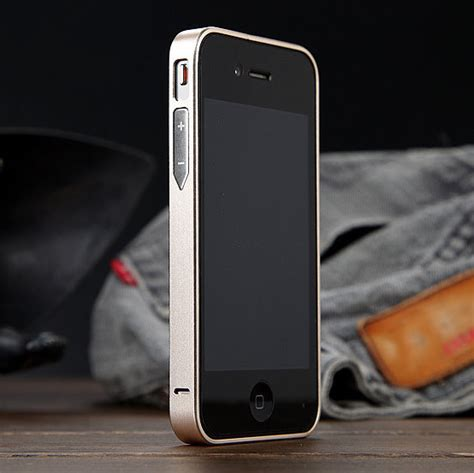 Luxury Aluminium Bumper Mirror Iphone 4 4g 4s Quality For Iphone4 4s Luxury No 0 7mm Ultra Thin Metal