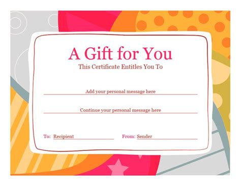 25 Best Ideas About Gift Certificate Template Word On Pinterest Gift Certificate Templates Shopping Certificate Template