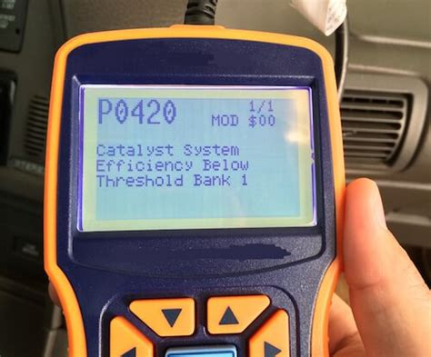 po420 honda p0420 code catalyst system efficiency below threshold