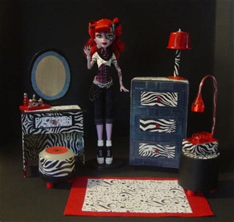 monster high doll house furniture my small obsession monster high dollhouse project