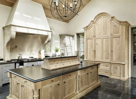 bleached wood kitchen cabinets bleached oak kitchen larder island la cuisine