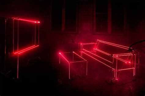 speed of light art of laser beam on furniture quest
