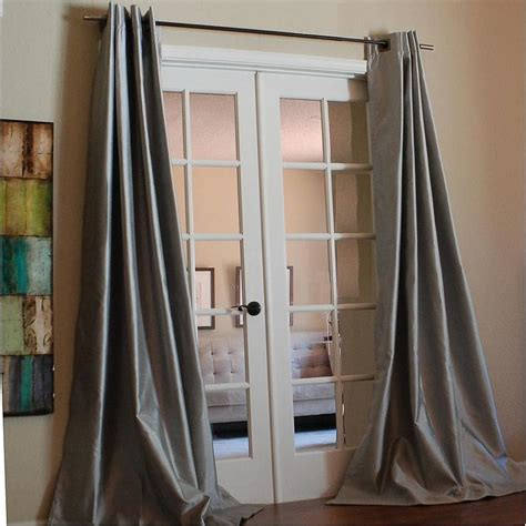 96 inch faux silk curtains mia faux silk 96 inch curtain panel overstock com