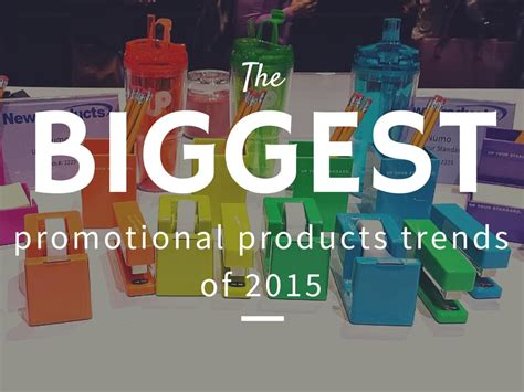 Most Popular Giveaways - top promotional products trends of 2015 logo items epromos