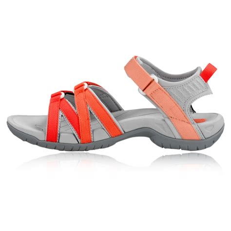 walking company sandals teva tirra womens orange grey walking outdoors sandals
