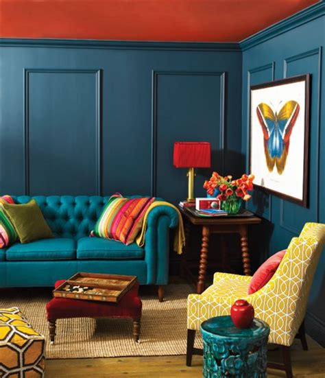 red and blue home decor inspire bohemia bohemian interiors a k a artistic