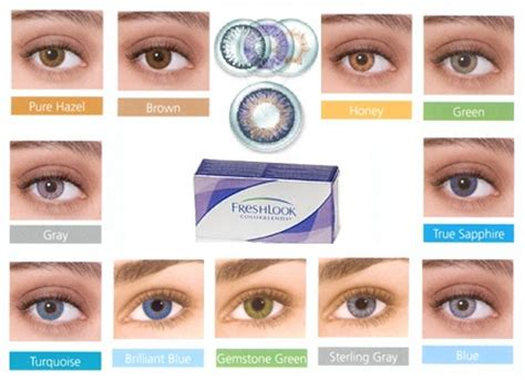 fresh colors freshlook colorblends 6 pack 74 95