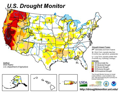 map of us drought states heck land company us drought monitor