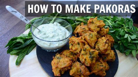 how to make pakora indian cooking recipes ramadan