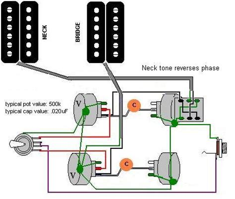 push pull pot phase reversal wiring problems my les