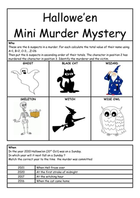 lesson plan for murder a master class mystery master class mysteries books ks2 maths mini murder mystery for hallowe en by whieldon