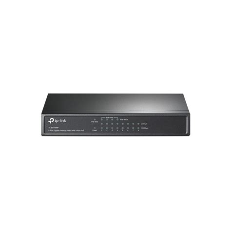 Tp Link Tl Sg1008p 8 Port Gigabit Desktop Switch With Diskon tp link 8 port gigabit desktop switch with 4 port poe tl