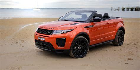 evoque land rover convertible 2017 range rover evoque convertible review caradvice