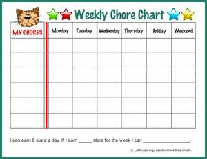 weekly chore chart template weekly chore chart 11 sle weekly chore chart template