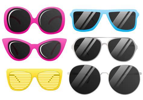 glasses vector vector cool sunglasses download free vector art stock