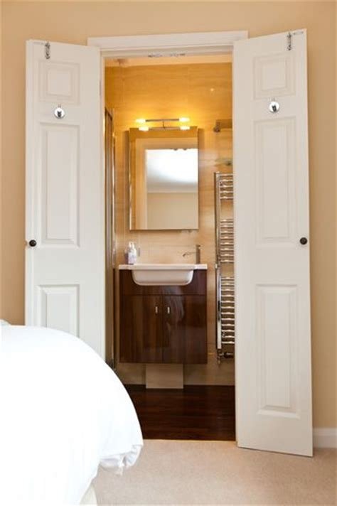 Door Ideas For Small Bathroom by Wardrobe Becomes An En Suite The Owner Converted A Small