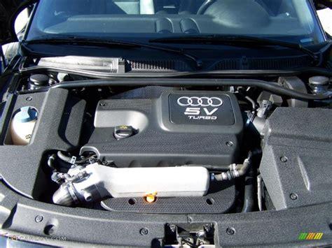 Audi Tt Motor by 2003 Audi Tt 1 8t Roadster 1 8 Liter Turbocharged Dohc 20