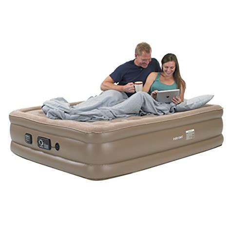 insta bed raised air mattress with never flat buy in uae sporting goods