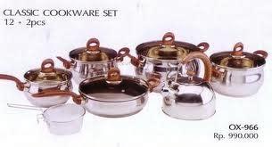 Panci Jumbo Set Oxone 127 Pcsox 988fsn alat baking cetakan kue murah aneka cookware panci set oxone ox 90p ox 933 ox 966 ox