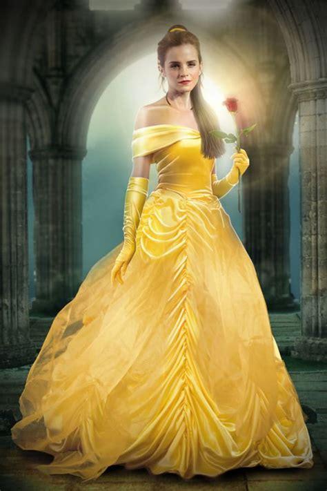emma watson yellow dress beauty and the beast emma watson yellow prom dress in movie beauty and the