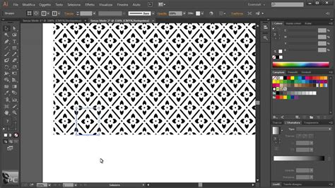 pattern per adobe illustrator video corso di illustrator cc lezione 51 modificare un