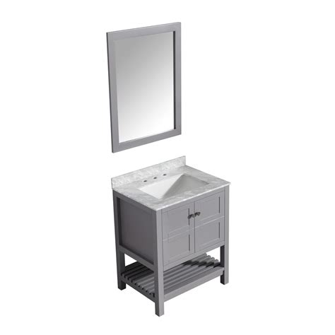 Montaigne Vanity by Glacier Bay Stancliff 30 5 In W Vanity In Elm Ember With