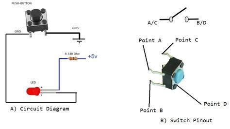 push on led switch wiring diagram wiring diagram