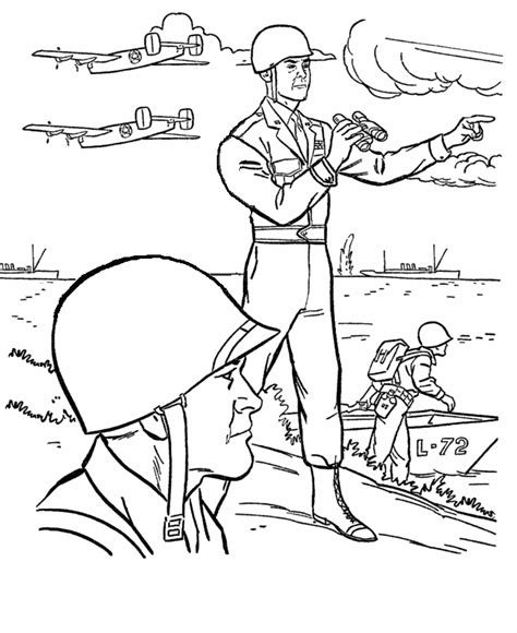 D Day Coloring Pages d coloring pages az coloring pages