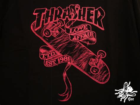 thrasher logo wallpaper wallpapersafari