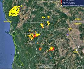 wildfire activity continues in northwest california and