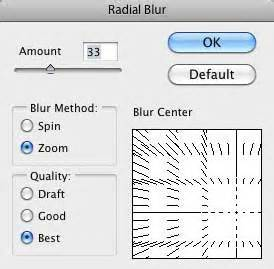 zoom radial blur photoshop tutorials psddude tutorial photoshop efek zoom dengan filter radial blur