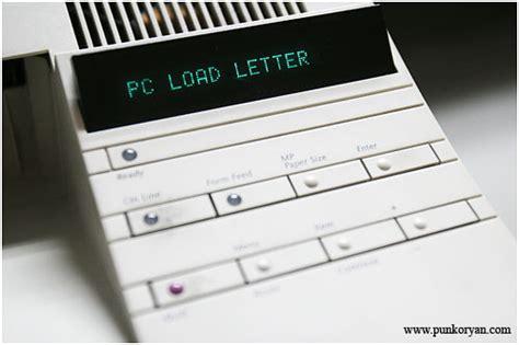 pc load letter o 1533