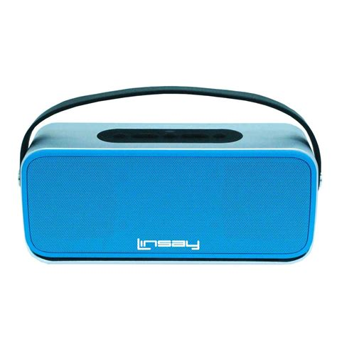 Bluetooth End To End linsay high end bluetooth stereo speaker blue slh 100b