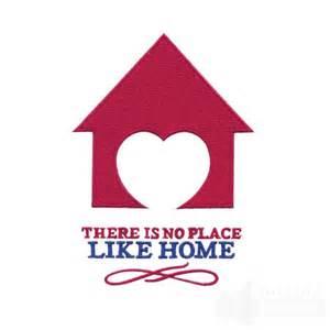 theres no place like home no place like home