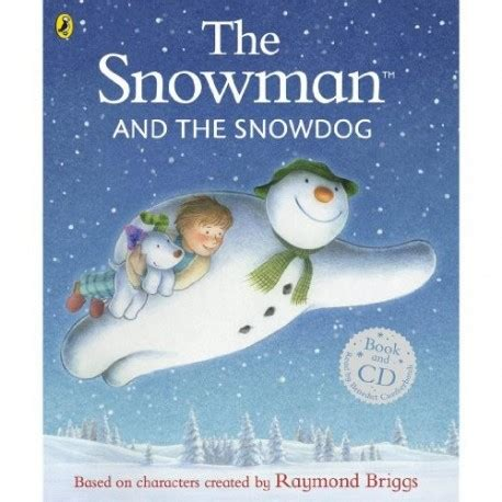 libro the snowman and the the snowman and the snowdog cd english wooks