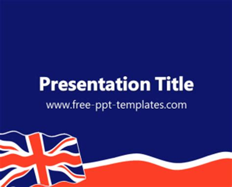 ppt templates for english union jack ppt template free powerpoint templates