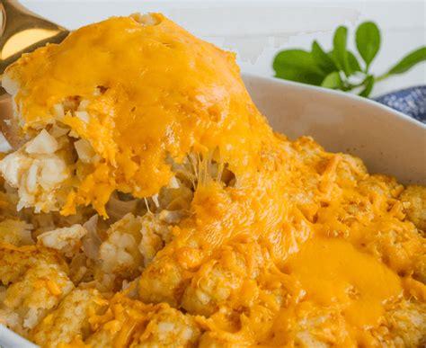 easy dinner recipes for family tatertot casserole